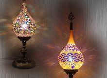 مصابيح وابجورات راقيه من تركيا