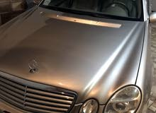 For sale Mercedes Benz E 320 car in Tripoli