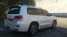 White Toyota Land Cruiser 2016 for sale