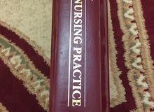كتاب Manual of nursing practice