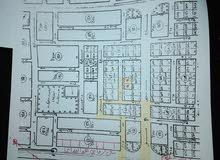 استراحة مكونة من ارضين للبيع كل قطعه 810م حي الرمال قسمين خلف مقهى ألأمم