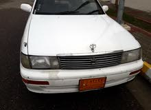 White Toyota Crown 1992 for sale