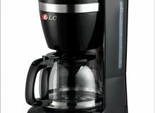 الة صنع القهوة الجديدة الة تعمل بطريقة التقطير ماركة DLC تعمل على كهرباء 220 60/