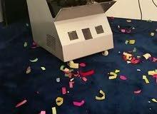 جهاز فقعات الصابون للحفلات