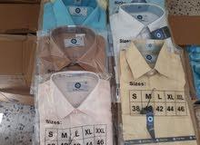 قمصان ساده رجالي تركي بسعر 1.5 جمله فقط