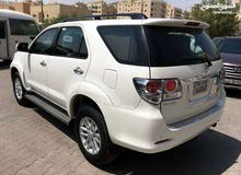 For rent 2014 White Fortuner