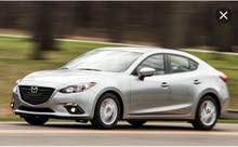 Mazda 3 2016 for rent monthly basis weekend basis and  daily basis