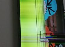 تلفزيون بشاشة مكسورة TV broken
