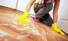 لدينا عاملات تنظيف بنظام اليومي