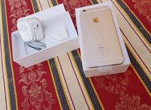 ايفون 6 بلس 64 جيبي جديد ونظيف جدا بقرطاسه لوكاله