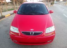 Automatic Red Daewoo 2003 for sale