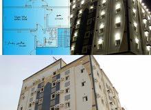 شقة واسعة 118م بالتيسير 245 ألف بصك مع غ سائق