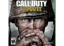 للعبة Call of duty WW2  على الاكس بوكس للبيع او المراوس ب call of duty black ops 4