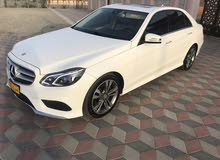 Mercedes Benz E 350 car for sale 2016 in Muscat city