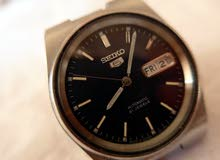 Seiko 5 Automatic 21 Jewels Black Dial Watch