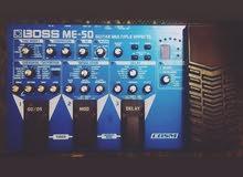 كيتار ملتي افكت بوس ام اي 50 - Boss ME-50 guitar multi-effect processor