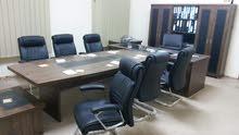 مكتب بالاثاث للايجار ب2500 شهري