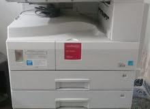 ماكينة تصوير مستندات (تصوير+فاكس) 20 ورقة بالدقيقة + دوبليكس + 2 درج
