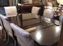 Dinning table & 8 chairs + console furniture