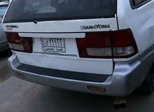 Gasoline Fuel/Power   SsangYong Musso 2002