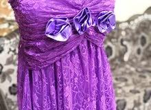 فستان بنفسجي انيف وخفييييف