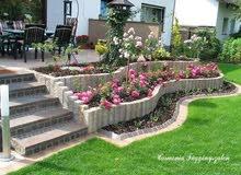 تنسيق حدائق منازل بالنباتات و كل مايلزم