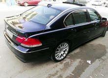 Blue BMW 740 2004 for sale
