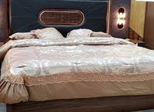 غرف نوم 7 قطع مع مرتبة هدية