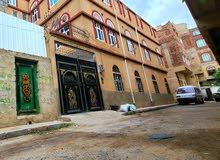 بيت ثلاثة دور للبيع في صنعاء