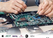 صيانة احترافية لجميع اجهزة اللابتوب والكمبيوتر والاجهزة الالكترونية بأفضل الاسعار