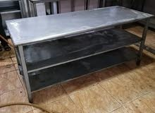 طاولات استيل