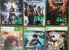 للبيع اللعاب Xbox360 ك الجديد