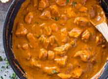 وجبات هندية وآسيوية وايطالية .....