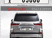 Dubai plates (X)
