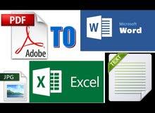 ادخال بيانات وترجمة وطباعة اونلاين Online Data Entry, Translation & Typewriting