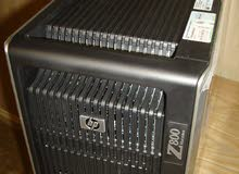 HP WORKSTATION Z800 XEON E5620 ب2 برسيسور( كاش 24 +8 كور +رام 24).بنظام تبريد قوي جدا