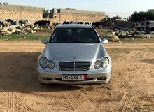 Gasoline Fuel/Power   Mercedes Benz C 240 2001