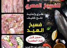 فسيخ ورنجة مصري طازج طري ولذيذ ملح خفيف