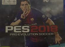 لعبة PES 2018 بلاي ستيشن 4 PS4 تعليق عربي نظيفة جدا نفس الجديدة