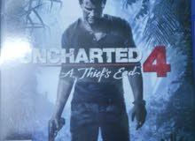 سيدي uncharted4 مستعمل للتبديل او البيع