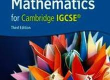 Extended mathematics for Cambridge IGCSE