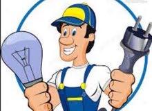 فني كهربائي لجميع الصيانه المنزليه والقسايم والتمديدات55154010