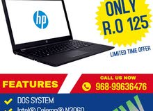 HP Notebook Intel Celeron N3060 4GB 500 GB