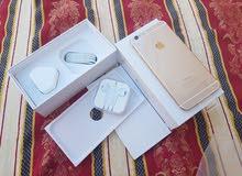 ابل ايفون 6 بلاس جديد مغلف وغير مستخدم new بسعر مغري64 جيبي