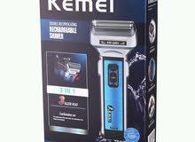 ماكينة حلاقة رجالية kemei 3in1