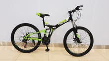 26 inch foldable mountain bicycle