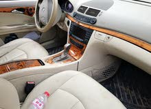 Maroon Mercedes Benz E 350 2005 for sale