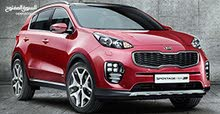 Best rental price for Kia Sportage 2019