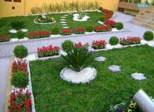تنسيق وصيانة الحدائق داخلية وخارجية