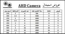 استبدال انظمة المراقبة كاميرات من TVL  الى AHD